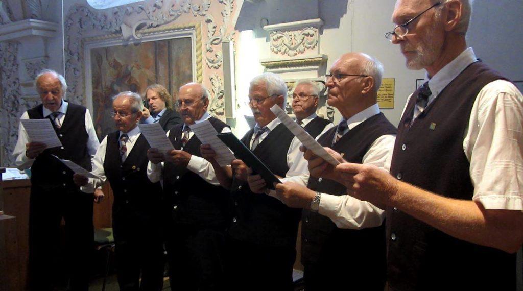 Festgottesdienst in St. Zeno zur 150 Jahr-Feier der Liedertafel Isen